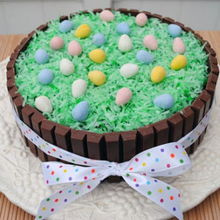 Pleasant Easter Kit Kat Cake Recipe 4 4 5 Birthday Cards Printable Opercafe Filternl