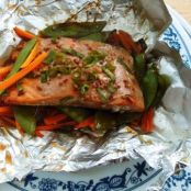 Salmon Foil Packet