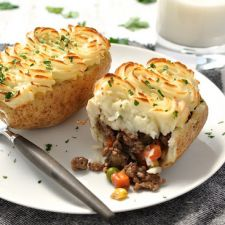 Shepherd's Pie Potato Skins