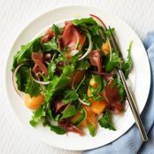 Arugula, Melon and Prosciutto Salad