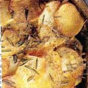 POTATOES BOULANGERE WITH ROSEMARY