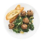 Flat Belly - Pork and Pine Nut Meatballs