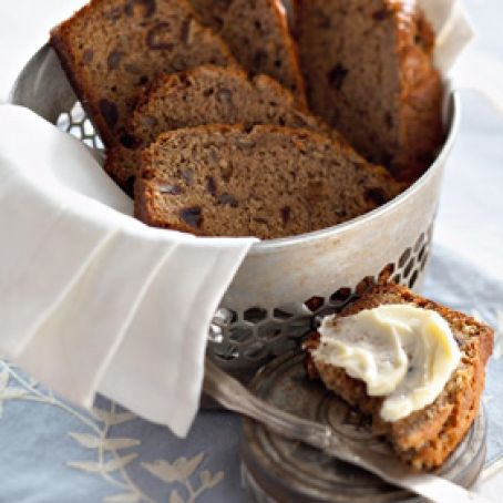 Banana-Date Nut Bread