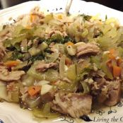 Pork Soup with Escarole