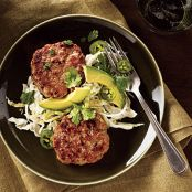 Green Curry Fritters WITH CABBAGE SLAW