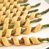 Prosciutto Asparagus Spiral Appetizers