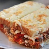 Ground Beef Sandwich Casserole
