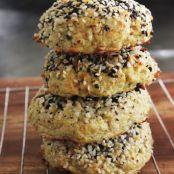 """Everything Bagel"" Cauliflower Rolls"