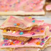 Easter Crack White Chocolate Toffee