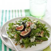 Arugula, Fig & Bleu Cheese Salad