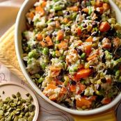 Sweet Potato & Rice Casserole