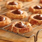 Chocolate Hazelnut Snickerdoodle Cookies