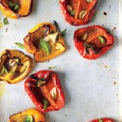 Roasted Peppers with Garlic & Herbs
