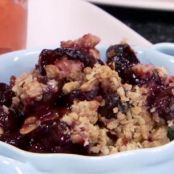Sweet Black Cherry Crisp