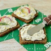 Touchdown Herb & Lemon Cream Cheese Spread