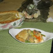 Sue's Chicken Pot Pie with Puff Pastry