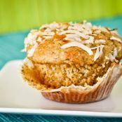 Banana Pineapple Coconut Muffin