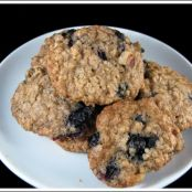 Blueberry-Oatmeal Cookies