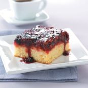 Upside Down Berry Cake