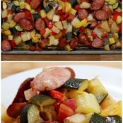 One-Pan Sausage and Veggies