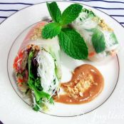 Green Papaya Spring Rolls