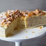 Coconut-Lemon Crepe Cake