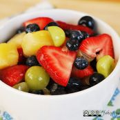 Sugar-free Pina Colada Fruit Salad