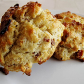 Best Flaky Biscuits with Bacon and Cracked Pepper
