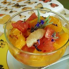 Spiced Lavender Scented Citrus Salad