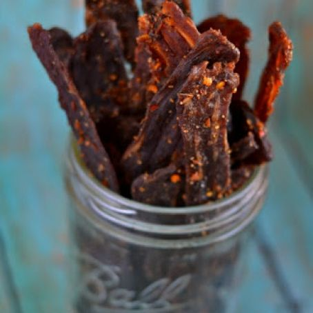 The Mrs's Homemade Beef Jerky
