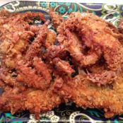 Fried Soft Shell Crabs