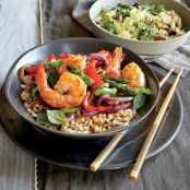 Healthy Shrimp And Asparagus Stir-Fry