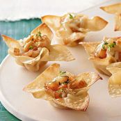 Savory Cheese & Onion Appetizer Cups
