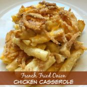 French Fried Onion Chicken Casserole