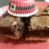 Shortbread Caramel Brownie Bars