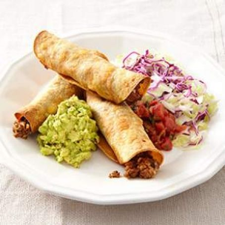 Oven Fried Beef Taquitos