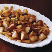 Roasted Pears and Parsnips