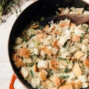 Stovetop Thanksgiving Stuffing