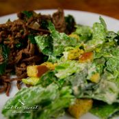 Fast Fry Beef and Kale