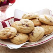 Chunky White Chocolate Cranberry Cookies