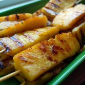 Grilled Pineapple Kebabs