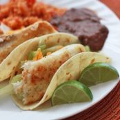 Honey Lime Fish Tacos