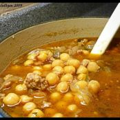 Spicy Sausage & Garbanzo Bean Soup