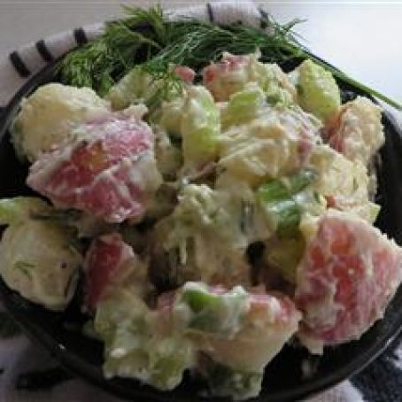Baby Red Potato Salad Recipe