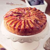 Italian Plum Upside Down Cake