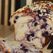 Blueberry Yeast Breadmaker Bread