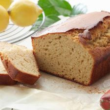 Healthy Lemony Yogurt Loaf Cake