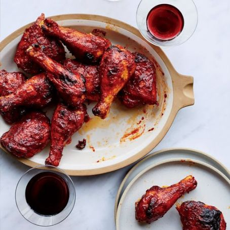 Red Wine BBQ Chicken