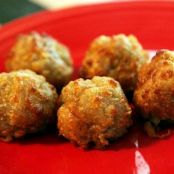 Maple Sausage Balls