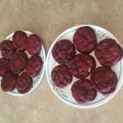 Red Velvet Cookies (with filling - Oreo) *** 6-10-19